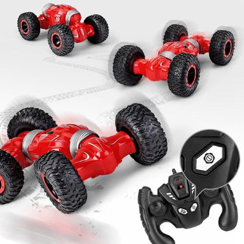Double-sided Flip Climbing Four-wheel Drive Remote Control Car Toy