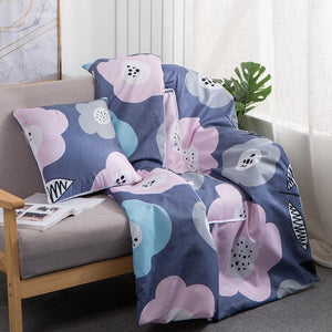 Pillow Cushion Blanket 2 In 1 for Beds Car Soft Summer Bed Cover 100*150 cm