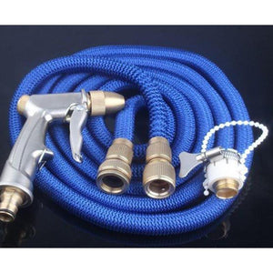 High-pressure Car Wash Water Gun Home Set Telescopic Pipe Brush Artifact Water Spray Head