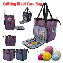 Load image into Gallery viewer, Portable Knitting Storage Bags Sewing Needles Organizer
