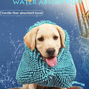Ultra-absorbent Soft Dog Bath Multipurpose Drying Towel