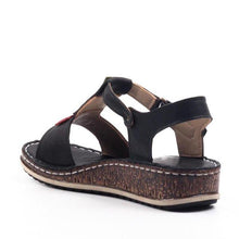 Load image into Gallery viewer, Women's Casual Daily Comfort Open Toe Wedge Sandals