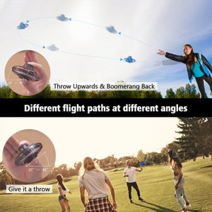 Creative Tricked-out Flying Spinner Anti-anxiety Reduce Stress Toy