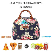Load image into Gallery viewer, Women Tote Lunch Bag