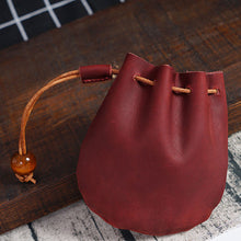 Load image into Gallery viewer, Drawstring Vintage Coin Storage Bag Bundle Pocket Mini Simple Wallet