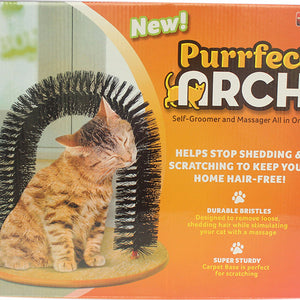 Automatic Remove Cat Hair Brush Tickle Anti-slip Catnip Gate Arch  Massage Comb