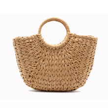 Load image into Gallery viewer, Casual Holiday Wheat Straw Weave Handbag