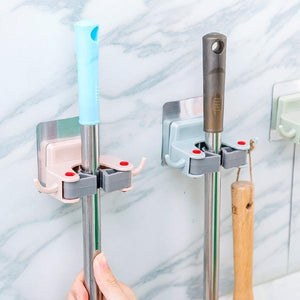 Universal Seamless Wall Mounted Mop Hook