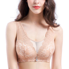 Load image into Gallery viewer, 5/8 Cup Lace Wireless Back Closure Bras