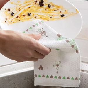 Reusable Kitchen Cleaning Cloth