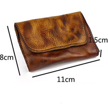 Load image into Gallery viewer, Retro Unisex Mini Fashion Card Pocket Wallet