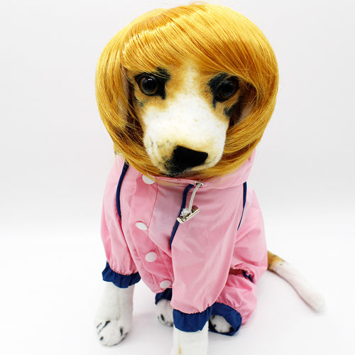 Funny Cute Pet Costume Cosplay Mane Wig