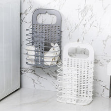 Load image into Gallery viewer, New Foldable Laundry Basket Bag Dirty Clothing Storage Box Kitchen Rack Organizer