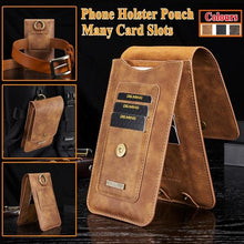 Load image into Gallery viewer, Waist Belt Clip Holster Bag Mobile Phone Protective Case