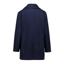 Load image into Gallery viewer, Women's Autumn Winter Woolen Coat With Pocket
