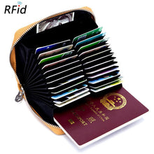Load image into Gallery viewer, Men's and Women's Fashion Solid Color Card Holder
