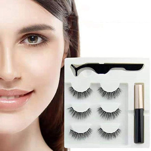 Reusable Magnetic Eyelash Eyeliner Set(3 pairs)