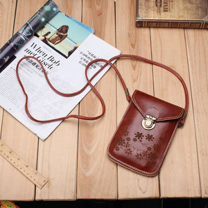 Mini PU Bohemian Outdoor Printed Crossbody Bag