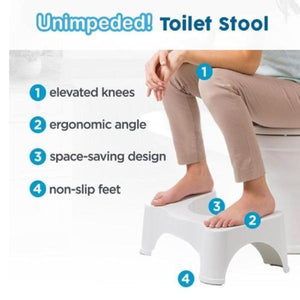 Multi-Function Anti Constipation Folding Toilet Stool