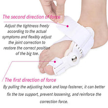 Load image into Gallery viewer, Toes Corrector Aligner Support Bunions Repair Care Toe Separator