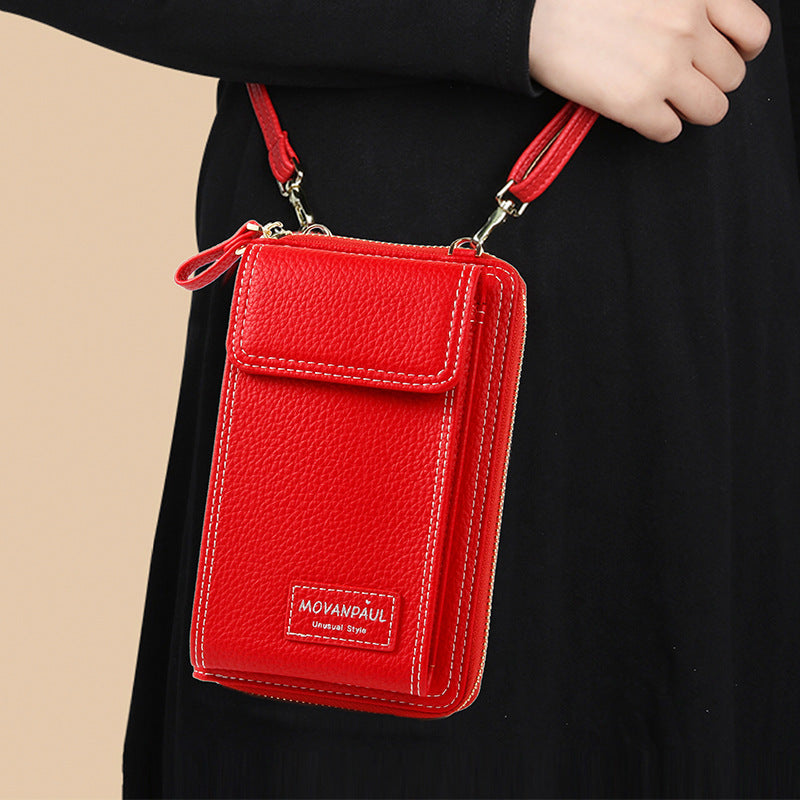 Women Fashion Adjustable Straps Zipper Solid Bag