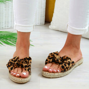 Plain Flat Peep Toe Date Travel Comfort Slippers