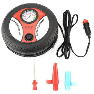 Multifunction Three-in-one Car Tire Air Pump