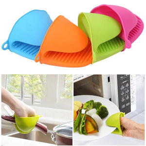 Thickened Silicone Heat Resistance Gloves Clamp Home Kitchen Gadgets