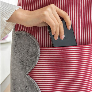 Multi-functional Kitchen Oil Proof Water Resistant Apron with Pockets
