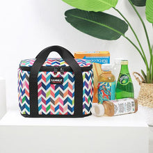 Load image into Gallery viewer, New Large-capacity Printed Outdoor Picnic Portable Lunch Bag