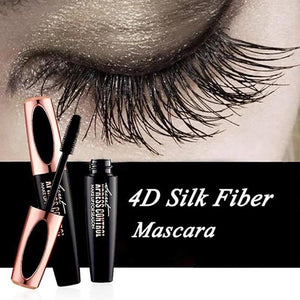 4D Silk Fiber Lash Mascara Curling Makeup Eyelash