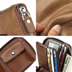 Men Large Capacity Front Pocket Wallet