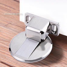 Load image into Gallery viewer, Magnetic Stainless Steel Invisible Doorstop