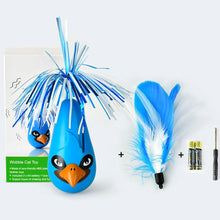 Load image into Gallery viewer, Feathers Cat Toys Play Entertainment Electric Tumbler Cat Toy