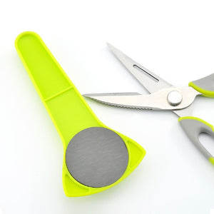 Multifunction Magnetic Protective Cover Kitchen Scissors