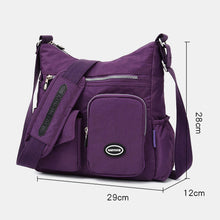 Load image into Gallery viewer, Women Nylon Large Capacity Waterproof Crossbody Bag