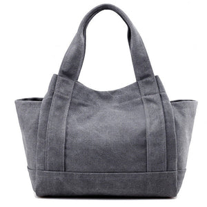 Canvas Casual Handbag Shoulder Bag Sport Outdoor Bag For Women