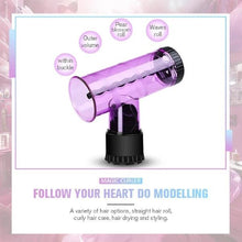 Load image into Gallery viewer, Hair Dryer Spin Roller Curls Diffuser