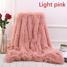 Load image into Gallery viewer, Home Decor Super Soft Shaggy Plush Blanket Sofa (Without Pillowcase)