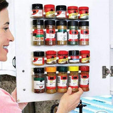 Load image into Gallery viewer, Wall Spice Storage Rack(4 pcs/set)