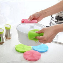 Load image into Gallery viewer, Kitchen Magic Dish Bowl Double Sided Multifunction Pot Pan Cleaning Brushes