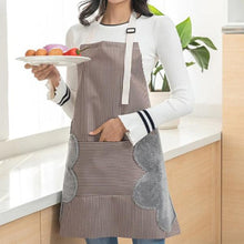 Load image into Gallery viewer, Multi-functional Kitchen Oil Proof Water Resistant Apron with Pockets