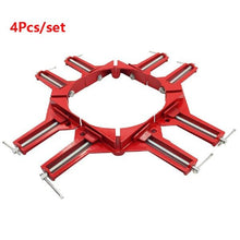 Load image into Gallery viewer, 4pcs Multifunction 90 Degree Right Angle Frame Corner Clamp