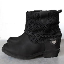 Load image into Gallery viewer, Women Autumn Winter Fashion Ankle Martin Boots