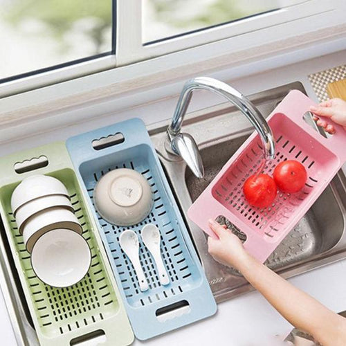 Home Dishwashing Storage Supplies Retractable Sink