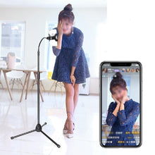 Load image into Gallery viewer, Adjustable Mobile Phone Tablet Floor Stand