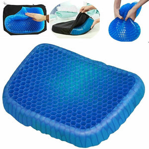 Breathable Comfortable Cervical Health Care Pain Release Gel Seat Cushion