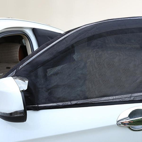 Car Window Cover Sunshade Sun Shade Curtain Visor Mesh Solar Mosquito Dust Protection
