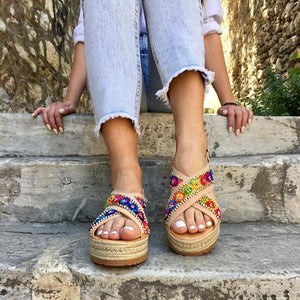 Flat Bottomed Handmade Sandals