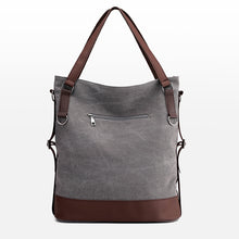 Load image into Gallery viewer, Women New Simple Big Capacity Canvas Handbag Shoulder Bag Daily Shopping Bag